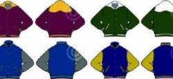 Letter jackets!  Custom jackets for any school in NoCO